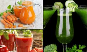 6 loại nước ép rau củ giúp trắng da cấp tốc