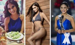 Tân Hoa hậu Hoàn vũ 2015 giữ vóc dáng như thế nào