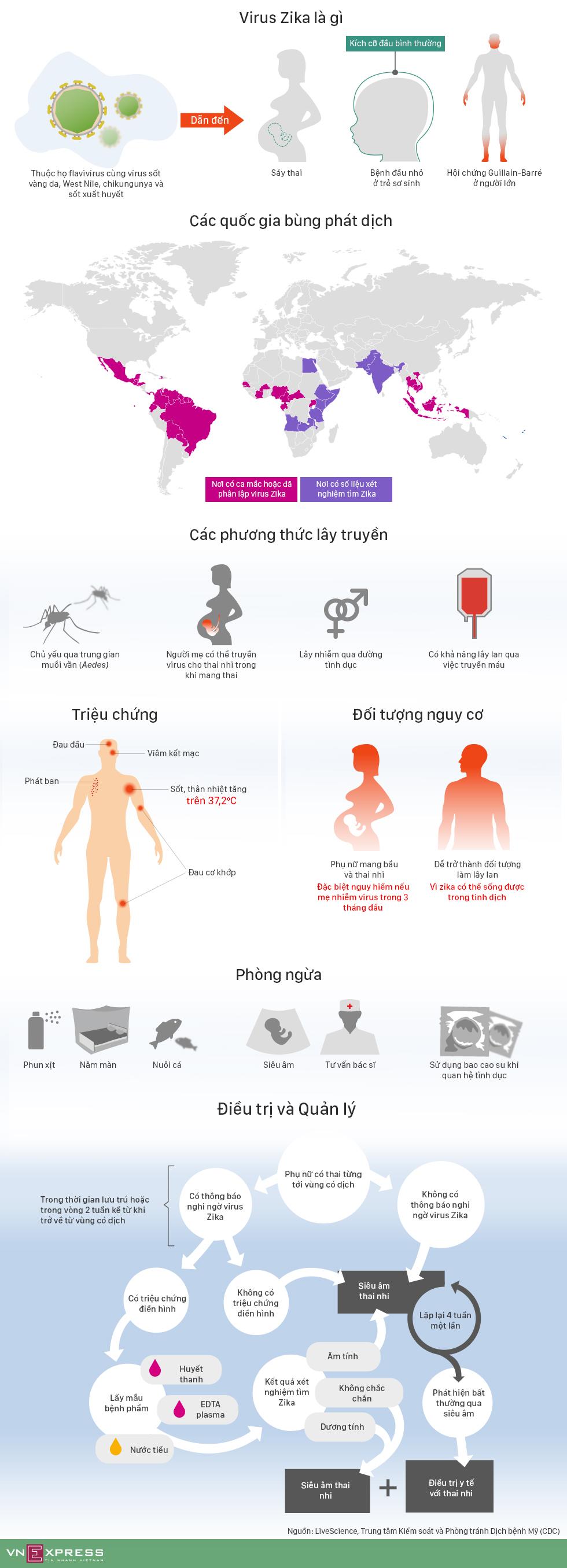 Virus Zika nguy hiểm như thế nào