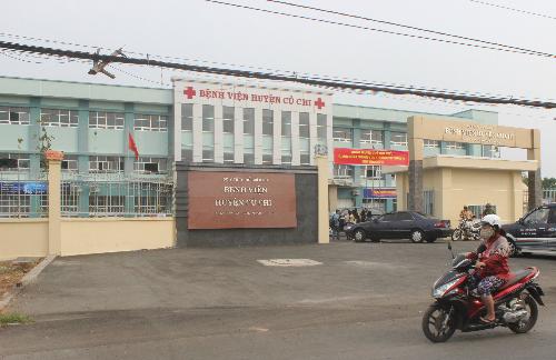 Bệnh viện huyện Củ Chi vừa xây mới khang trang với quy mô 300 giường bệnh. Ảnh: Lê Phương.
