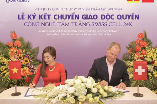 Sự kiện này nâng thương hiệu Lavender lên một tầm cao mới, đồng thời mang đến cho phái đẹp Việt cơ hội trải nghiệm một siêu phẩm trắng da đẳng cấp quốc tế.