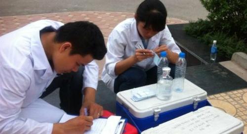 Chương trình xét nghiệm nước sinh hoạt miễn phí tại Hà Nội năm 2015