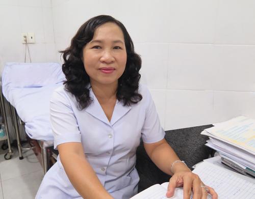 Bác sĩ chuyên khoa 2 Mai Ngọc Phượng - Phó khoa phòng khám, Bệnh viện Ung Bướu TP HCM.