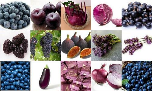 Thực phẩm màu tím được tiêu thụ ngày càng nhiều. Ảnh: freshnfitcuisin