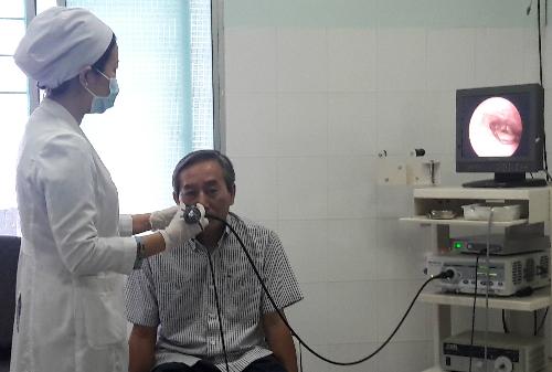 Sau gần một tháng áp dụng phương pháp mới, BV Tai Mũi Họng đã thực hiện hơn 30 phẫu thuật cắt ung thư bằng laser cho bệnh nhân và đều thành công.