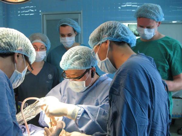 thu nhỏ xương gò má, xương hàm trên, xương hàm dưới... bằng kỹ thuật cắt rời và di chuyển xương với máy cắt xương siêu âm.