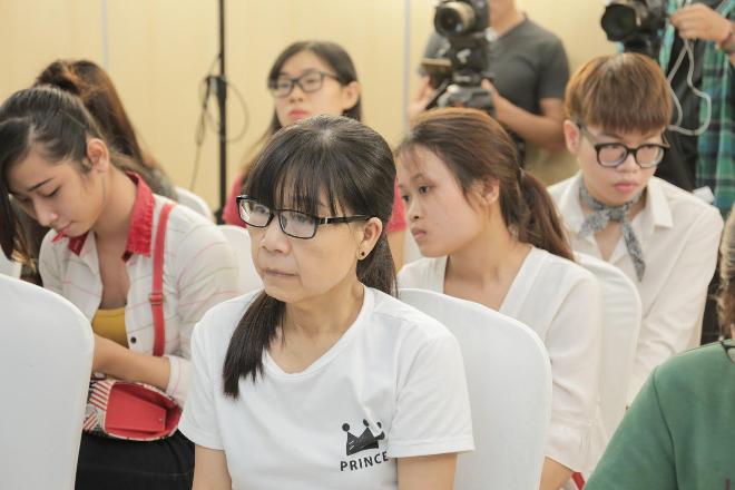 Thí sinh Nguyễn Thị Như trong buổi casting Hành trình lột xác 2017.