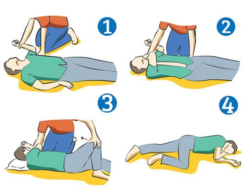 4 bước sơ cấp cứu người bị đột quỵ