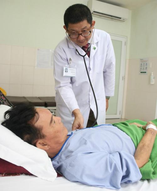 Bệnh nhân đang dần hồi phục sau những ngày điều trị. Ảnh: P.T