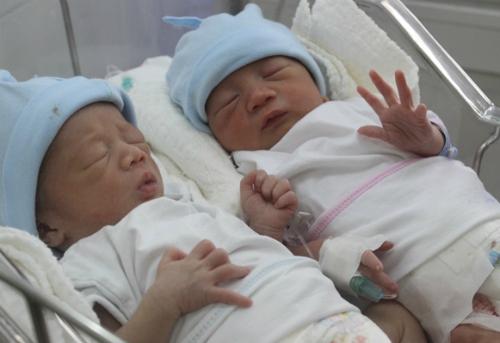 Trẻ chào đời tại bệnh viện sản ở TP HCM. Ảnh: Lê Phương.