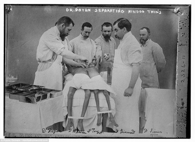 Một thời bác sĩ phẫu thuật không găng tay