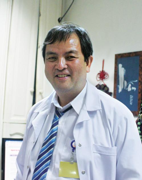 Phó giáo sư, Tiến sĩ, bác sĩ Nguyễn Hoài Nam.