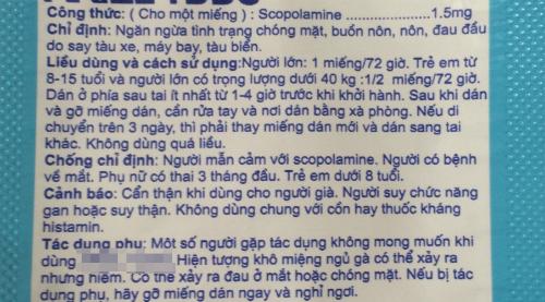 Dù trên bao bì miếng dán được khuyến cáo không sử dụng cho trẻ dưới 8 tuổi nhưng theo bác sĩ Khanh, cần chống chỉ định với trẻ dưới 12 tuổi. Ảnh: Lê Phương.