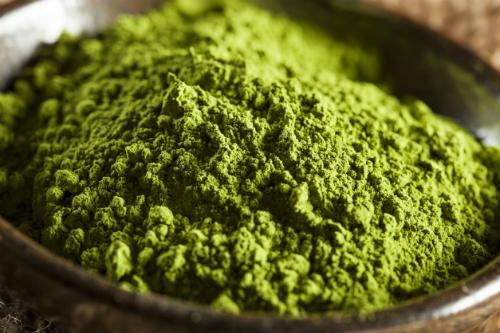Trà xanh chứa hoạt chất có khả năng kháng bướu. Ảnh: bbcgoodfood
