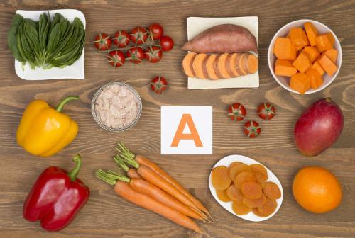 Một số thực phẩm giàu vitamin A. Ảnh: betterhealth