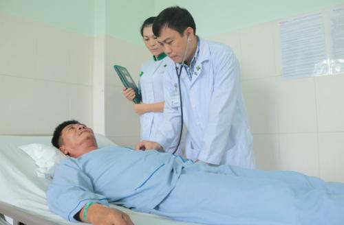 Bệnh nhân hồi phục tốt sau mổ. Ảnh: P.T