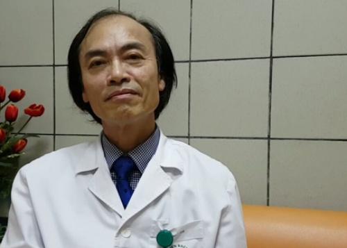 Phó giáo sư-tiến sĩ Nguyễn Tiến Dũng, nguyên trưởng khoa Nhi, Bệnh viện Bạch Mai.