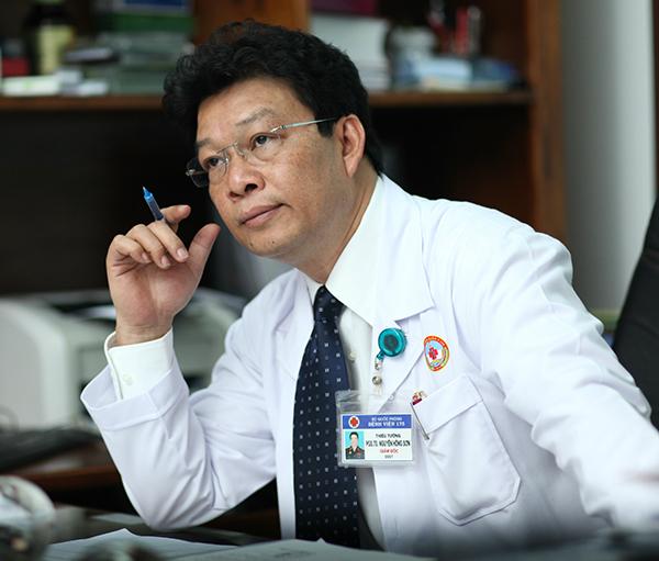 Phó giáo sư, thiếu tướng Nguyễn Hồng Sơn. Ảnh: N.H