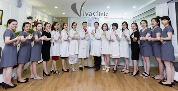 Đội ngũ nha sĩ tại Viva Clinic.