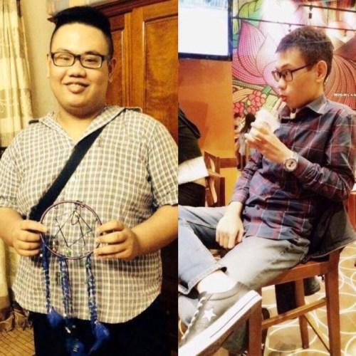 Chàng béo Hà Thành lột xác nhờ giảm 62 kg