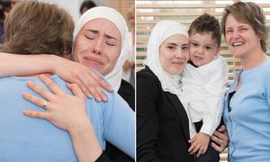 Giây phút cảm động mẹ gặp người hiến tạng cứu con trai mình