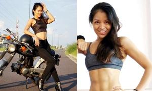 Cô gái Quy Nhơn bụng 6 múi sau 5 năm khổ luyện