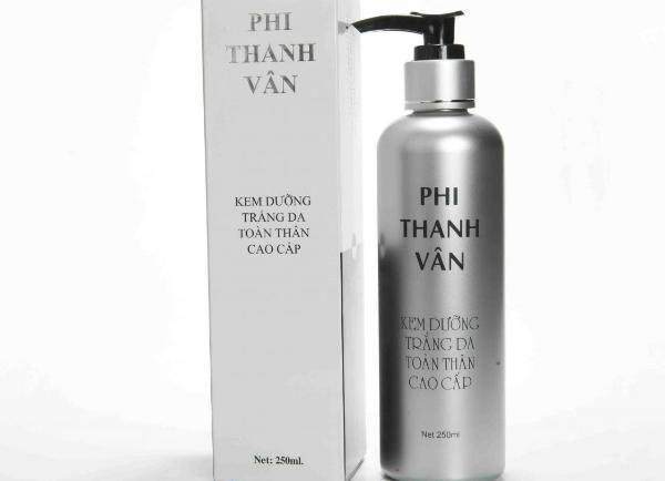 Một trong những sản phẩm bị niêm phong của công ty cổ phần mỹ phẩm Phi Thanh Vân.