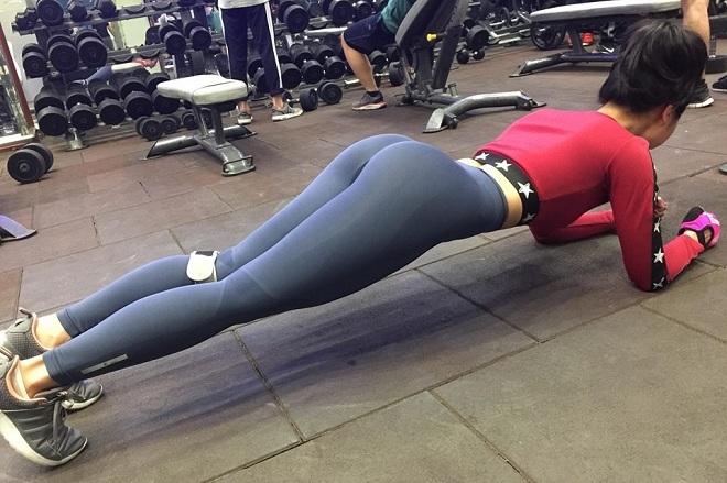 Cô gái thôn bản vóc dáng nóng bỏng nhờ khổ luyện gym