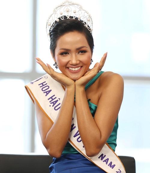 Hoa hậu Hoàn vũ Việt Nam 2017 HHen Niê. Ảnh: Đức Đồng.