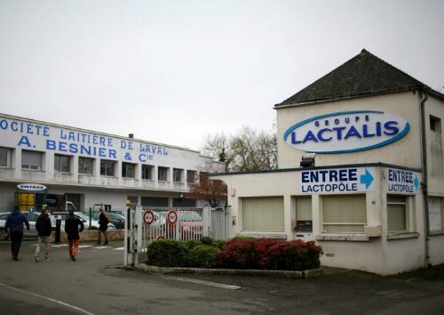 Cơ sở của tập đoàn Lactalis. Ảnh: Reuters.