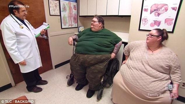Lee và Rena trước khi giảm cân. Ảnh: TLC.