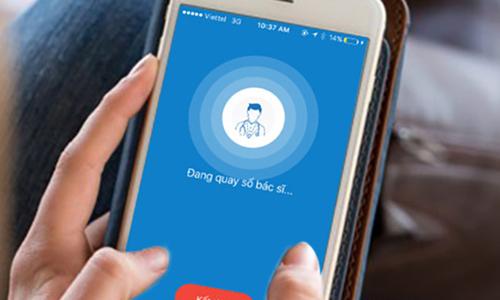 Ứng dụng điện thoại giúp đăng ký khám bệnh, xét nghiệm máu
