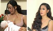 Mẹ bỉm sữa Sài Gòn nóng bỏng với vóc dáng giảm 17 kg sau sinh