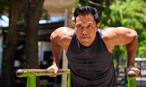 Hướng dẫn nam giới tập luyện đốt mỡ thừa không cần đến gym