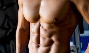 3 phút tập giúp cơ bụng phái mạnh săn chắc