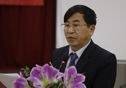 Ông Nguyễn Xuân Hồng, Phó Giám đốc Sở Y tế Nghệ An. Ảnh: Nguyễn Hải.