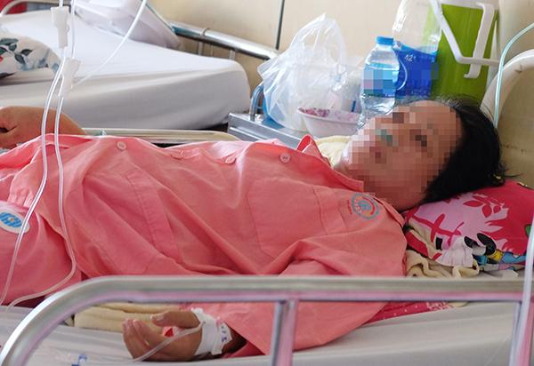 Bệnh nhân đang được theo dõi tại Bệnh viện Chợ Rẫy. Ảnh: L.P