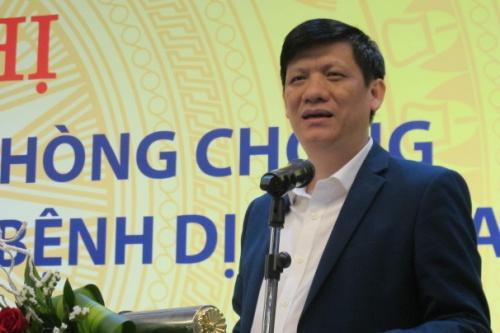 Thứ trưởng Y tế Nguyễn Thanh Long. Ảnh: Nam Phương.