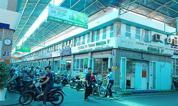 Phố chuyên doanh dược phẩm, thiết bị y tế đầu tiên ở Sài Gòn