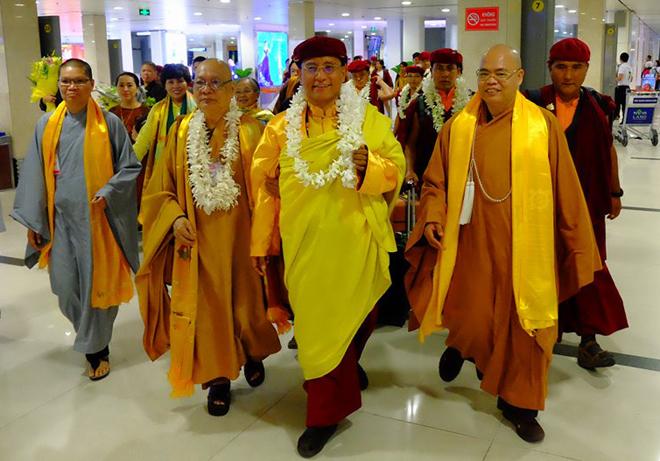 Gyalwang Drukpa đến TP HCM