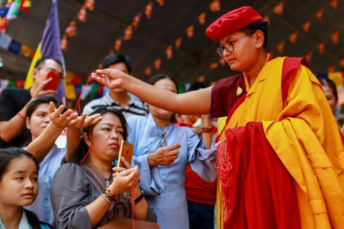 100 cao tăng tháp tùng Đức Gyalwang Drukpa đến Việt Nam