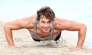 Bài tập dành cho nam giới luyện săn chắc cơ bắp
