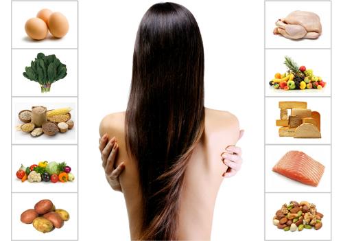Thực phẩm giúp tóc khỏe đẹp
