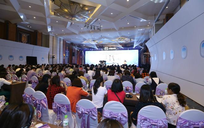 Hơn 800 chuyên gia y tế, dinh dưỡng, nhi khoa dự hội thảo ngày 14/4 tại Hà Nội.