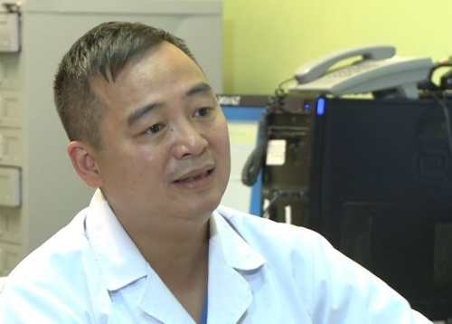 Bác sĩ Nguyễn Lân Hiếu. Ảnh: T.H.