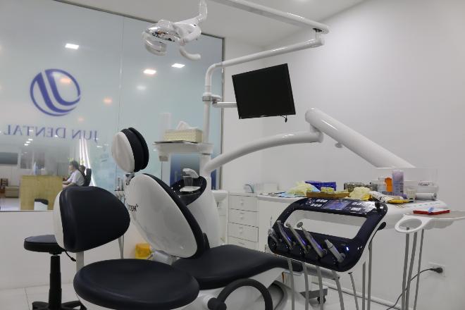 Jun Dental được trang bị cơ sở vật chất hiện đại.