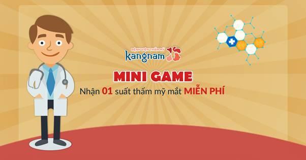 Nhận suất thẩm mỹ mắt miễn phí với minigame tuần 3