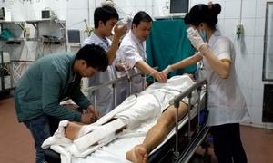 Quá chén dịp nghỉ lễ, nhiều người vào viện cấp cứu