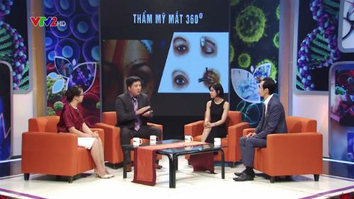 VTV2 phối hợp cùng Kangnam đưa ra giải pháp thẩm mỹ mắt