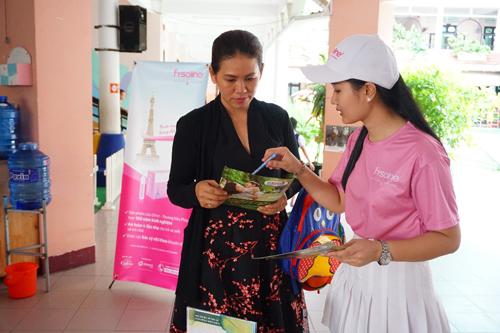 Hoạt động tư vấn phụ huynh hạn chế sử dụng kháng sinh tại trường mầm non.